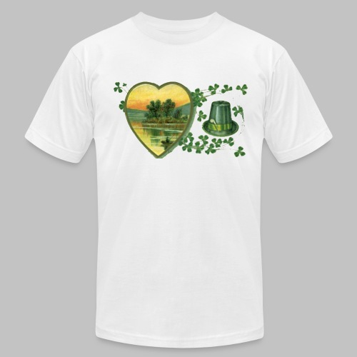 Ireland Postcard - Men's T-Shirt by American Apparel