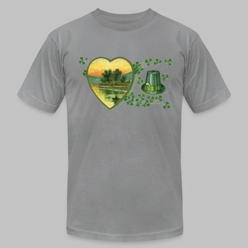 Ireland Postcard - Men's Fine Jersey T-Shirt