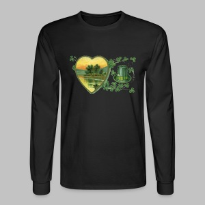 Ireland Postcard - Men's Long Sleeve T-Shirt