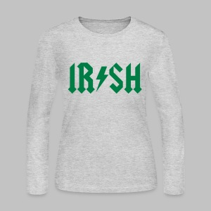 IRISH ACDC - Women's Long Sleeve Jersey T-Shirt