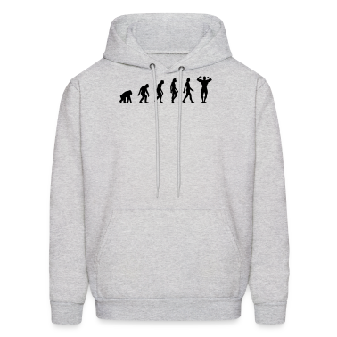 Body Building Evolution (1c) Hoodies