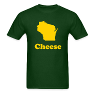 T-Shirts ~ Men's T-Shirt ~ Wisconsin Cheese
