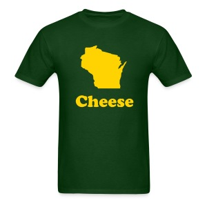 Wisconsin Cheese - Men's T-Shirt