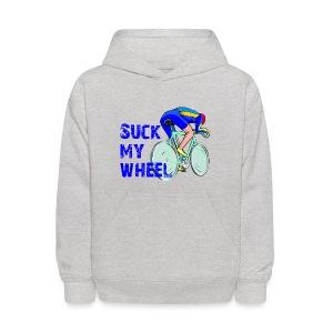 Suck My Wheel Kid's Hoodie - Kids' Hoodie