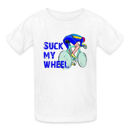 Suck My Wheel Children's T-Shirt - Kids' T-Shirt