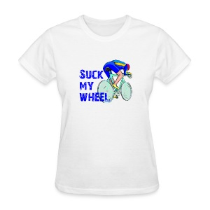 Suck My Wheel Women's Standard Weight T-Shirt - Women's T-Shirt