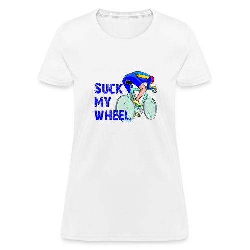 Suck My Wheel Women's Standard Weight T-Shirt - Women's T-Shirt