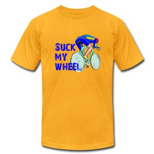 Suck My Wheel Men's AA Tee - Men's Fine Jersey T-Shirt