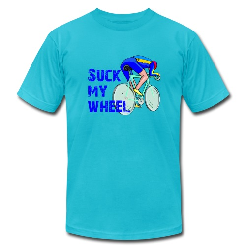 Suck My Wheel Men's AA Tee - Men's  Jersey T-Shirt