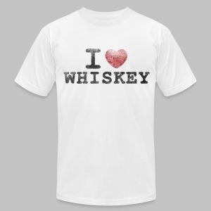 I Heart Whiskey - Men's Fine Jersey T-Shirt