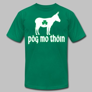 Pog Mo Thoin - Men's T-Shirt by American Apparel