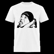 T-Shirts ~ Men's T-Shirt ~ Male White FLuffee Shirt.