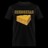 T-Shirts ~ Men's T-Shirt ~ Cheesehead