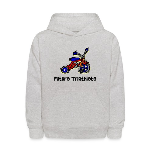 Future Triathlete Tricycle Kid's Hoodie - Kids' Hoodie