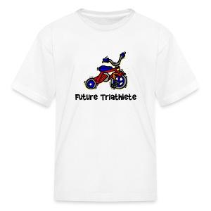Future Triathlete Tricycle Kid's T-Shirt - Kids' T-Shirt