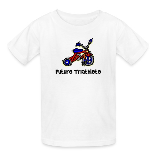 Future Triathlete Tricycle Kid's T-Shirt - Kids' T-Shirt