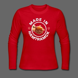 Made in Hamtramck Women's Long Sleeve Jersey Tee - Women's Long Sleeve Jersey T-Shirt