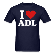 T-Shirts ~ Men's T-Shirt ~ I Love ADL Shirt