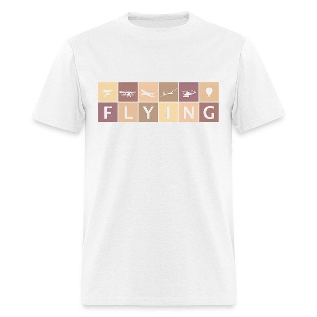 FLYING Men's Heavyweight T-Shirt