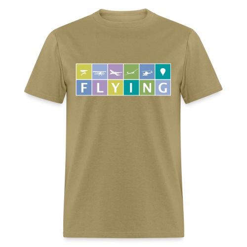 FLYING Men's Heavyweight T-Shirt - Men's T-Shirt