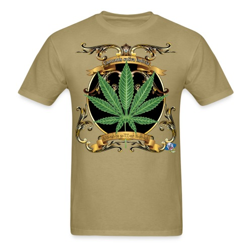 Marijuana cannabis indicia T-Shirt - Men's T-Shirt