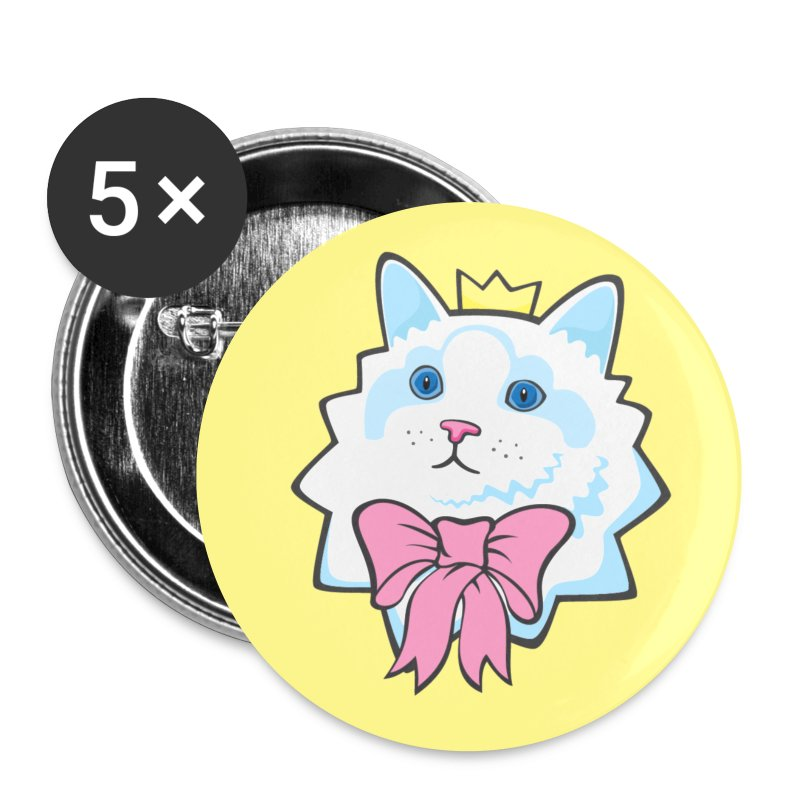 Prince Purrrfect Buttons - Small Buttons