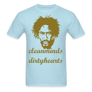 Clean minds.  - Men's T-Shirt