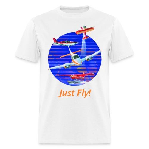 Just Fly! Men's Standard Weight T-Shirt - Men's T-Shirt