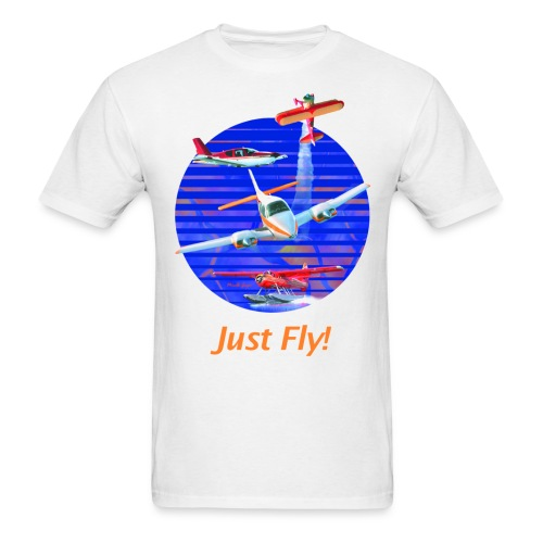 Just Fly! Men's Standard Weight T-Shirt - Men's T-Shirt