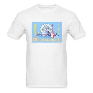 Milwaukee Flag - Men's T-Shirt