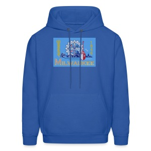 Milwaukee Flag - Men's Hoodie