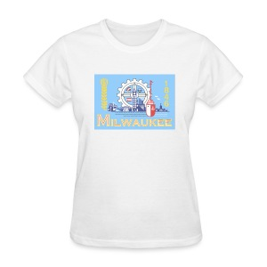 Milwaukee Flag - Women's T-Shirt