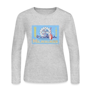 Milwaukee Flag - Women's Long Sleeve Jersey T-Shirt