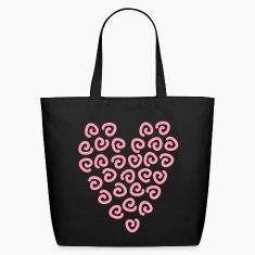 Heart of roses Bags