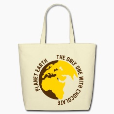 Planet Earth Chocolate Bags