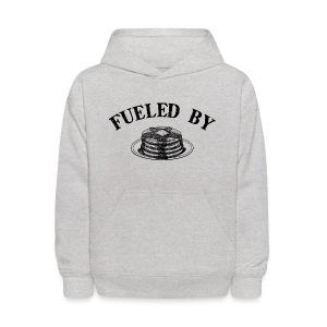 Fueled By Pancakes Kid's Hoodie - Kids' Hoodie