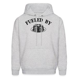 Fueled By Pancakes Men's Hoodie - Men's Hoodie