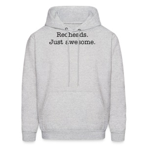 Redheads. Just awesome (Men) - Men's Hoodie