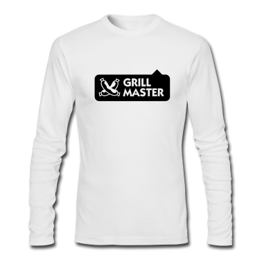 Grill Master 3 (1c) Long Sleeve Shirts