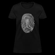 T-Shirts ~ Women's T-Shirt ~ Fingerprint T-shirt