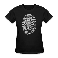 Women's T-Shirts ~ Women's T-Shirt ~ Fingerprint T-shirt