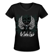 Women's T-Shirts ~ Women's V-Neck T-Shirt ~ Article 7024508