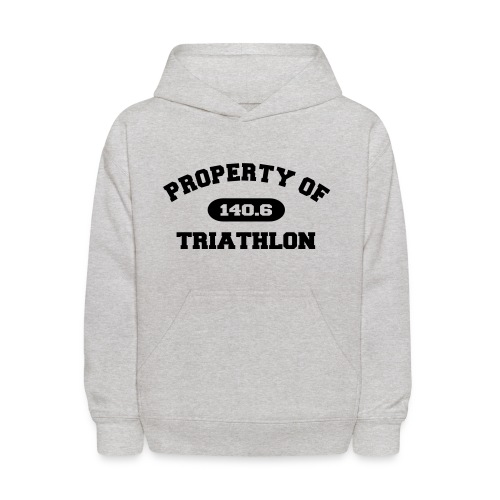 Property of Triathlon 140.6 - Kid's Hoodie - Kids' Hoodie