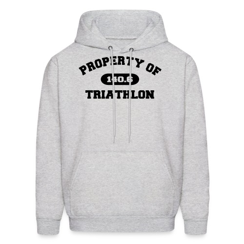 Property of Triathlon 140.6 - Men's Hoodie - Men's Hoodie