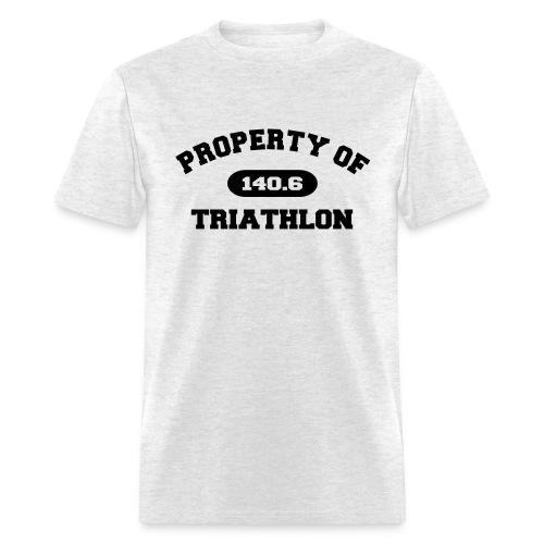 Property of Triathlon 140.6 - Men's Standard Weight T-Shirt - Men's T-Shirt