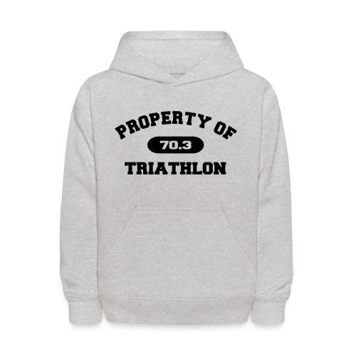 Property of Triathlon 70.3 - Kid's Hoodie - Kids' Hoodie