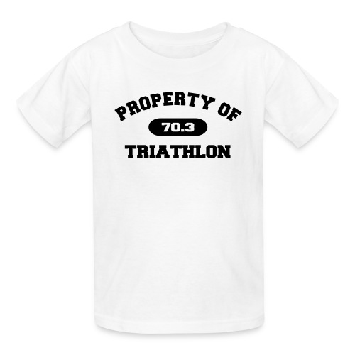 Property of Triathlon 70.3 - Kid's T-Shirt - Kids' T-Shirt