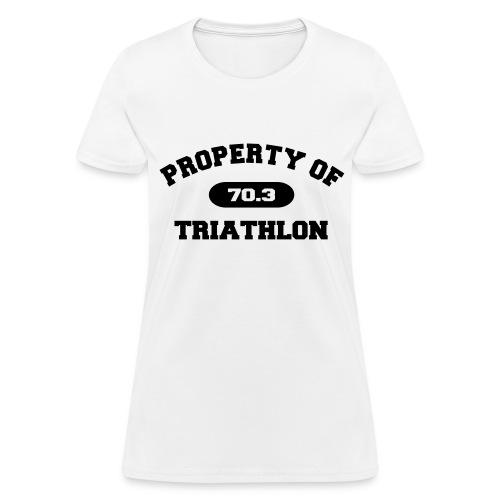 Property of Triathlon 70.3 - Women's Standard Weight T-Shirt - Women's T-Shirt