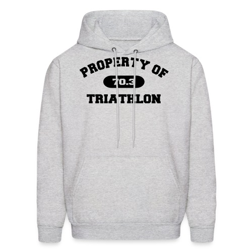 Property of Triathlon 70.3 - Men's Hoodie - Men's Hoodie