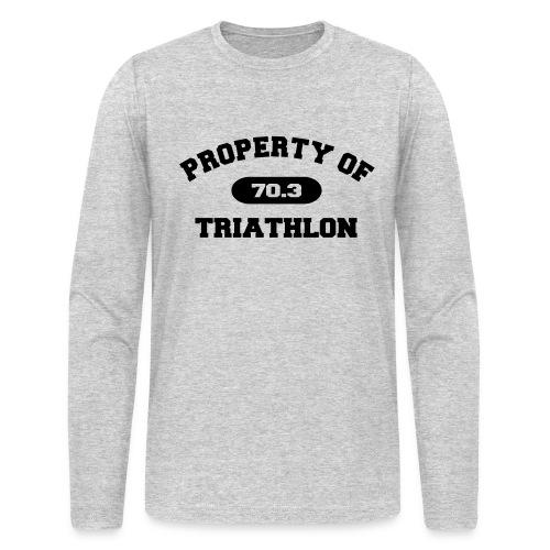 Property of Triathlon 70.3 - Men's AA Long Sleeve Tee - Men's Long Sleeve T-Shirt by Next Level